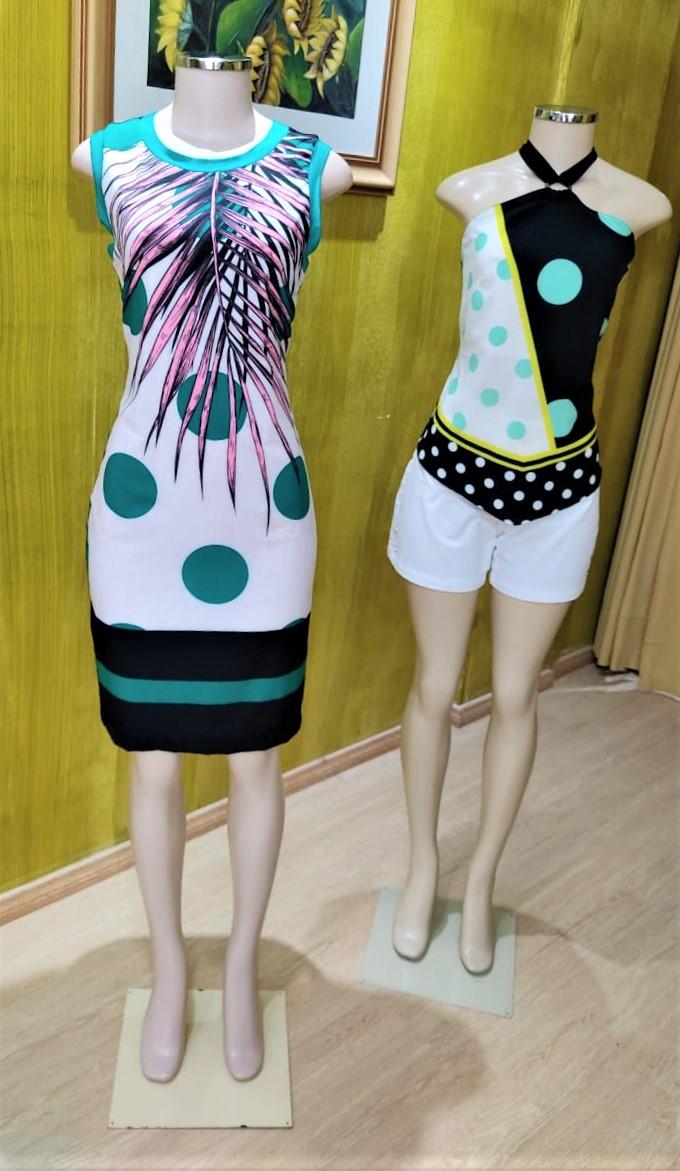 3-Vestido-Short e Blusa